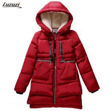1PC Winter Jacket Women Military Coats Plus Size Thickening Cotton Hooded Parkas For Women Winter Coat Chaquetas Mujer Z008(Hong Kong)
