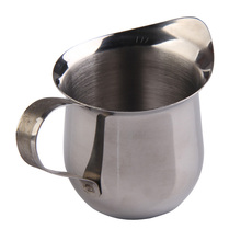 90ML High Quality Stainless Steel Milk Cup Coffee Mug Small Milk Cream Waist Shape Cup Jug 3OZ Home Kitchen Tools