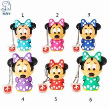 XIWANG Mouse Mickey and Minnie USB Flash Drive pen drive Animal cartoon pendrive 4GB/8GB/16GB/32GB exquisite pendrive funny usb