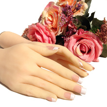 Fashion High Level Silicone Lifelike Hand Mannequin Female Hand Model(China)