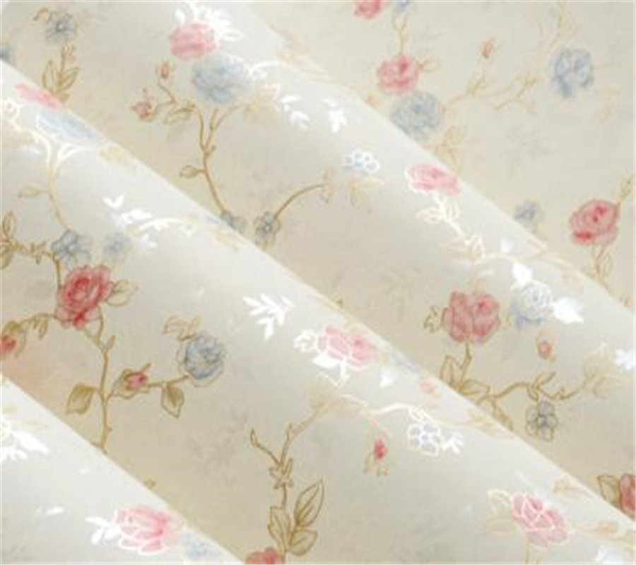 Beibehang wall papers home decor Warm pastoral small floral 3D wallpaper girl room wedding room bedroom non - woven wallpaper <br>