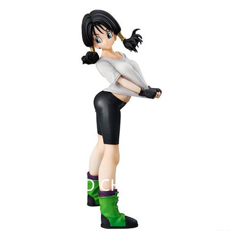 Anime Dragon Ball Z A Martial Arts World Great Saiyaman Son Gohan Wife Videl PVC Action Figure Collectible Model Toy 17CM G230<br>