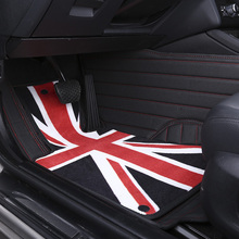 Custom car floor mats for Land Rover All Models Discovery 3 4 freelander 2 Range Rover Sport Evoque Discovery 3 LR3 car styling
