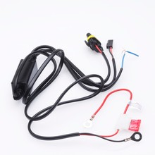 1 PC Motorcycle HID Xenon light H6 H4 9003 Conversion Light Bulb Lamp Relay Wiring controller socket Cable Wire Harness