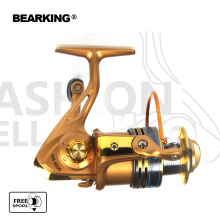 HOT SALE! Bearking 2017 Fishing Reel Fishing Spinning Reel 5.2:1 Light Aluminum Fishing Reel Wheel Series Free shipping