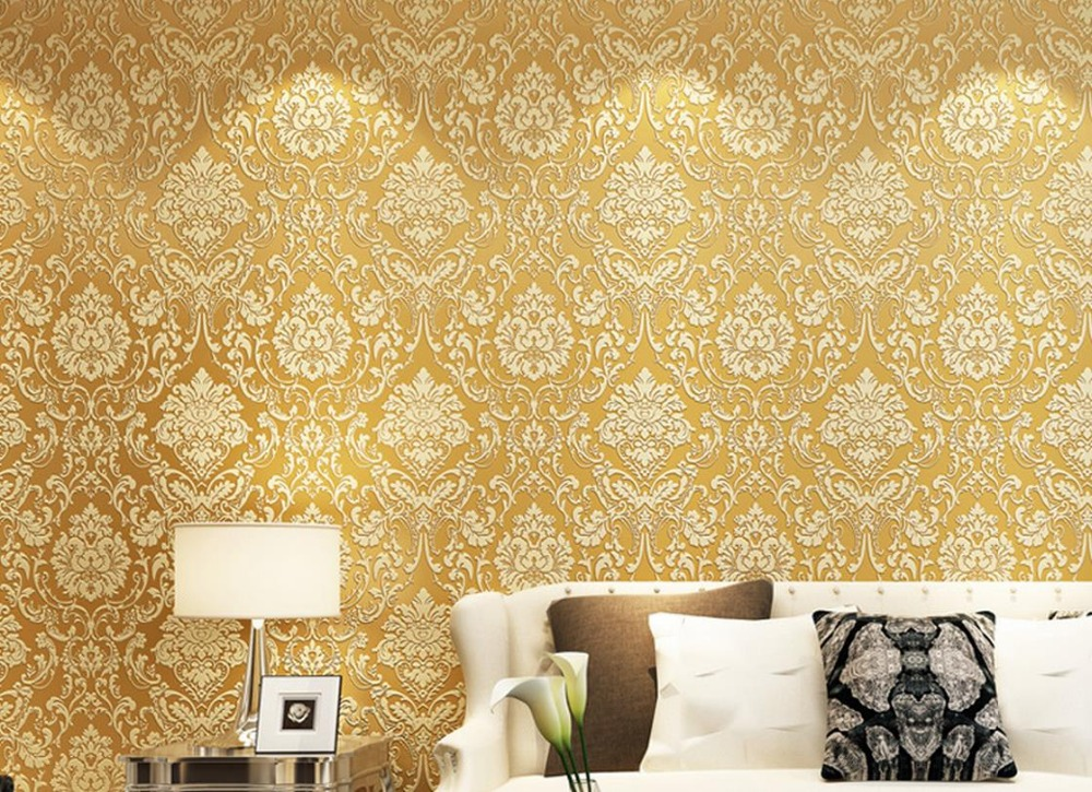 3D stereoscopic relief European non-woven wallpaper bedroom living room TV backdrop roll wallpapers<br>