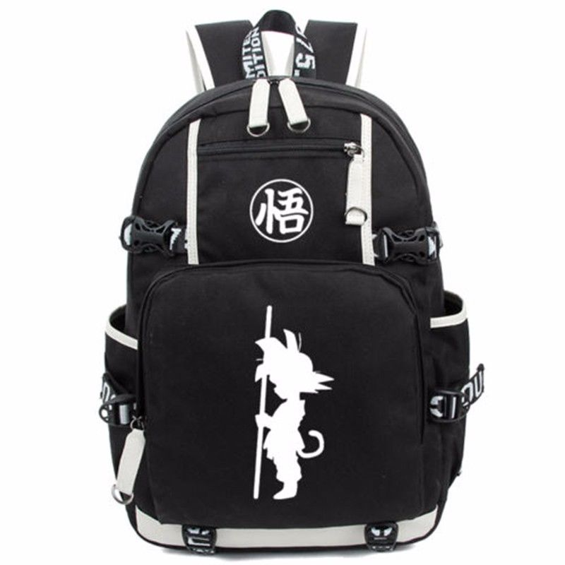 Anime DragonBall Z Son Goku Luminous Backpack Glow Schoolbag Computer Bag Travelling Bag Fans Collection 7071553<br>