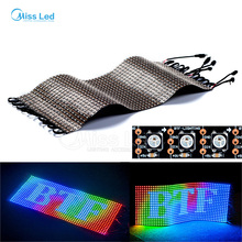 Wholesale 20*50 WS2812B led panel screen Digital Flexible LED Programmed Individually Addressable Full Color DC5V
