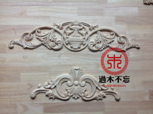 Do not forget to log in Dongyang wood wood trim Window Decal Decals European Style Fireplace door flower bed