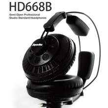 Original Superlux HD668B Headphones Semi-open Dynamic Professional Studio Monitoring DJ Headset Auriculars Free Shipping