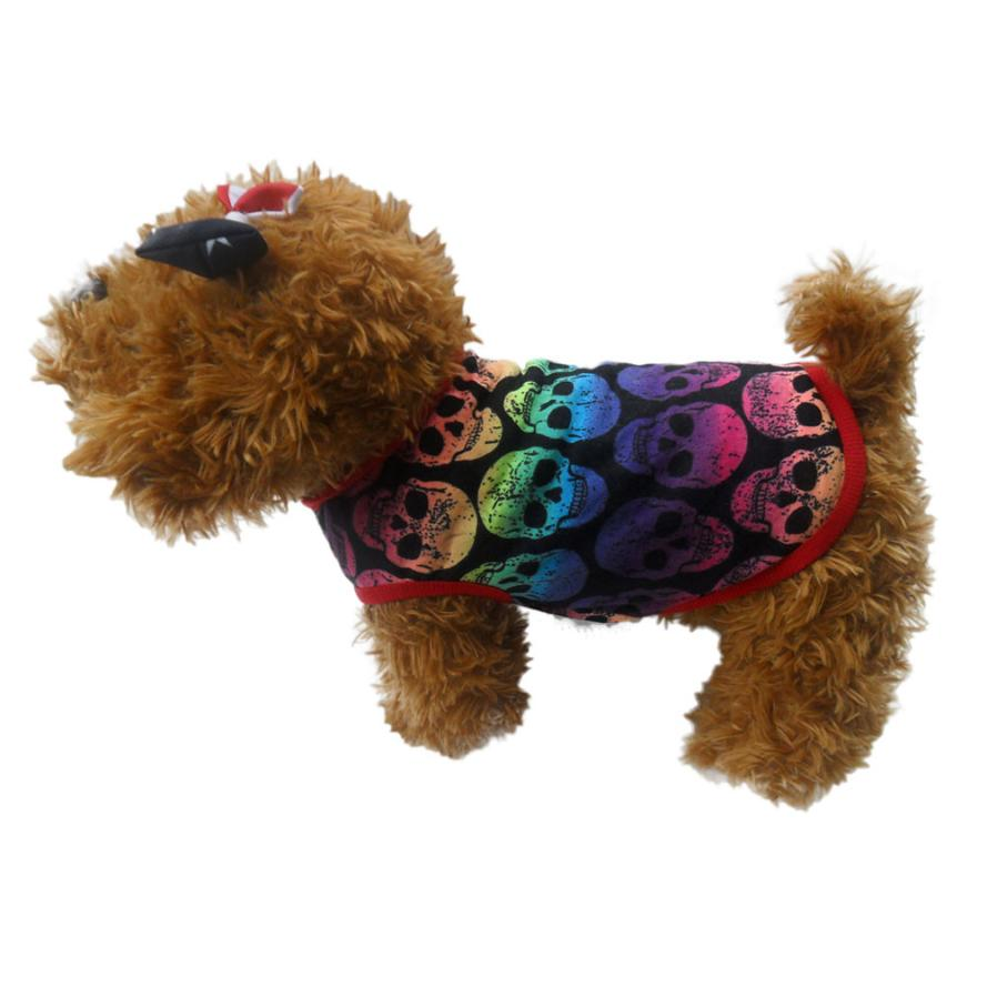 high recommend coloful cotton xsxl dog halloween costume dog clothes for small dogs honden