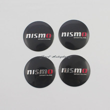 4Pcs 3D Aluminium For NISMO 57mm Wheel Center Hub Caps Emblem Sticker Case for Nissan