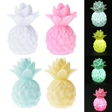 Kids Light-up Toys Mini LED Pineapple Night Light Kids Nursery Lamp LED Night Light Kids Children Bedroom Lamp 4 Colors