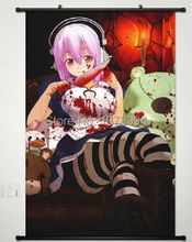 Home Decor Anime Japanese Sexy Nitro+ Super Sonico POSTER WALL Scroll customize(China)