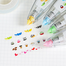 Korean Creative Stationery Novelty Decorative Correction Tape Notebook Diary Cute Decoration DIY Tool School & Office Supply