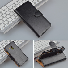 For Samsung Galaxy S3 Mini i8190 GT-I8190 cover Wallet with ID Card Holder and Stand Function 4 Colors