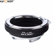 Buy K&F CONCEPT PK-L/M Camera Lens Mount Adapter Ring Pentax PK Mount Lens Leica L/M Lens Camera M8 M9 M9P M-E Type 240 for $23.99 in AliExpress store