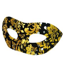 Mask macka 2017 New Sexy Crown Print Elegant Eye Face Mask Masquerade Ball Carnival Fancy Party(China)
