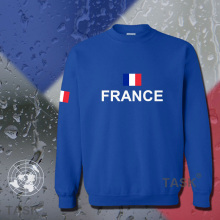 France hoodies men sweatshirt sweat new hip hop streetwear socceres jersey footballer tracksuit nation French flag fleece FR