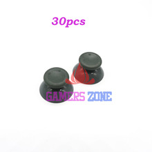 30pcs Grey Analog Joystick Thumbstick Cap Fix Parts for Xbox 360 Game Controller