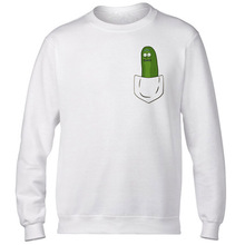 Rick Morty hoodies man funny fashion Autumn rick y morty pickle rick printing o-neck rick morty sweatshirts autumn tops