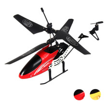 3.5 Channel RC I/R Remote Control Helicopter With Gyro LED Quadcopter Remote Control Helicopter Drone With Degree Rollover(China)