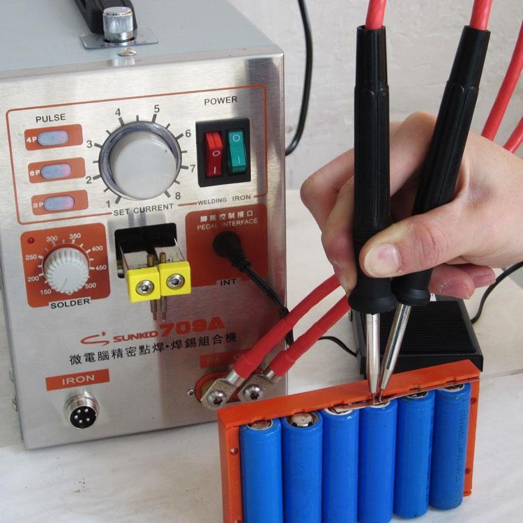 Точечная сварка для аккумуляторов от аккумулятора