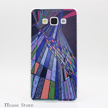 3352CA sublime Transparent Hard Cover Case for Galaxy A3 A5 A7 A8 Note 2 3 4 5 J5 J7 Grand 2 & Prime