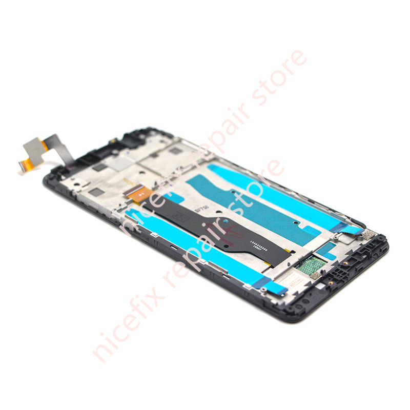 HTB1KBFfRVXXXXXhXpXXq6xXFXXXI - 4X LCD Display Screen Touch Screen digitizer assembly with Frame Note 4X 5.5 inch