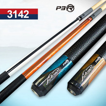 3142 Brand P3R Pool Cues Billiards Stick 10mm/11.5mm/13mm Tip Blue/Orange/White/Brown Colors China 2017