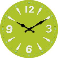 Fashion Wooden Wall Clock Modern Design Oversized Large Decorative Simple Cool  Green Wall Clocks Home Decor