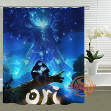 Ori and the Blind Forest Shower Curtain Customize Unique Bath Waterproof Bathroom Products Curtains