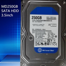 New inventory hard drive Brand WD2500AAKX 250GB  SATA 3.5inch Hdd hard disk drive  HDD hard disk drive Warranty for 1year