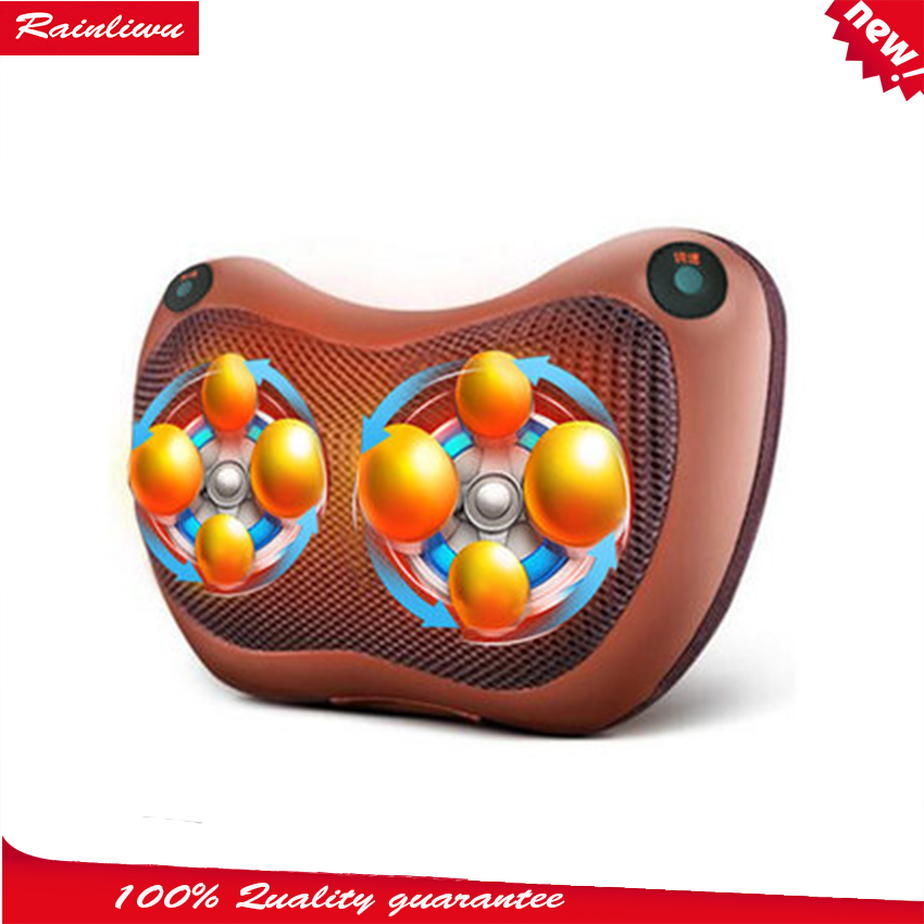 Massage pillow Body Charging massager cervical vertebra massage device Multi-function electric car massager Enjoy moving SPA(China (Mainland))