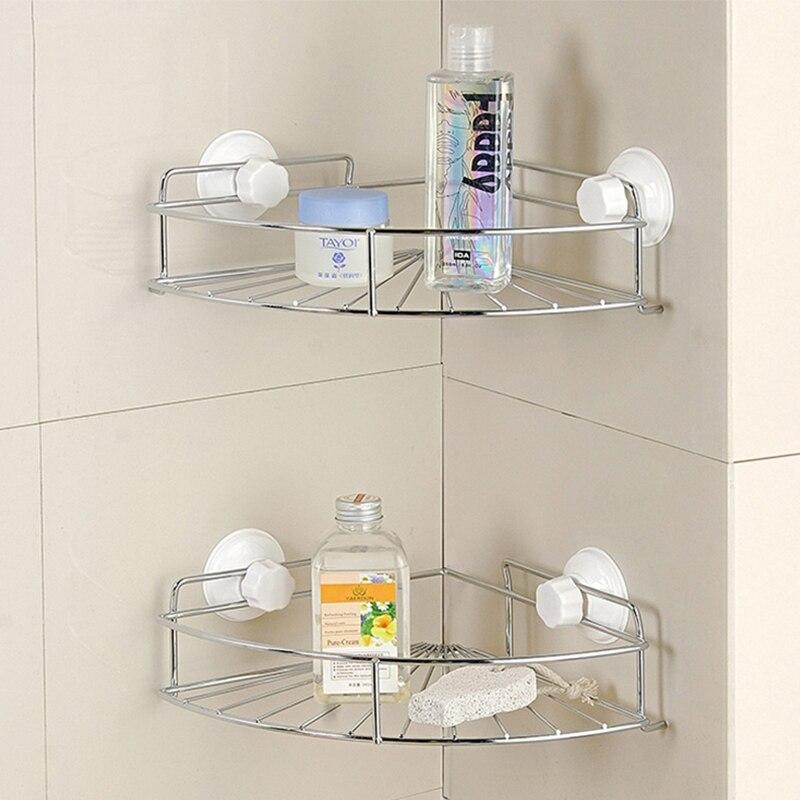 Corner shelves for bathroom