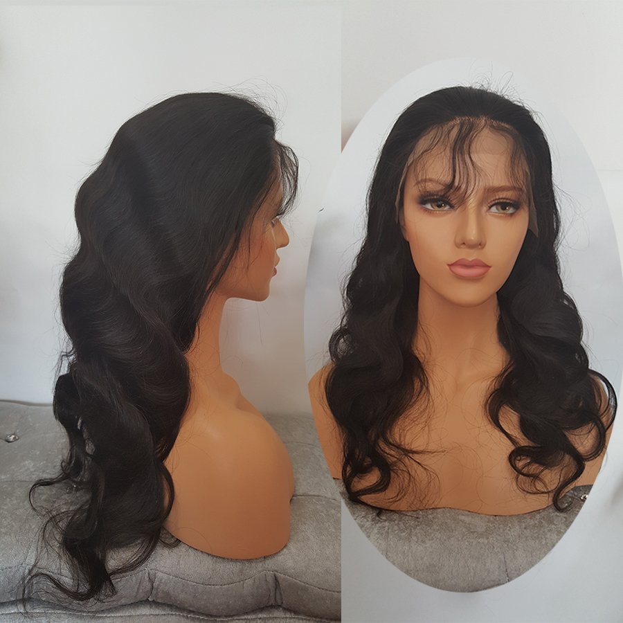 SHUMEIDA 130% Peruvian Lace Front Human Hair Wigs For Black Women Body Wave Lace Front Wig Remy Hair Average Cap Women Wigs (2)