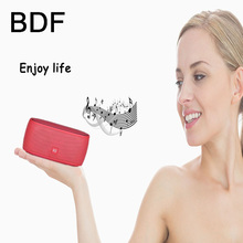 BDF Mini Portable Bluetooth speaker stereo HiFi loud speaker super bass sound box for the cordless phone Support xiaomi MP3 Fm(China)