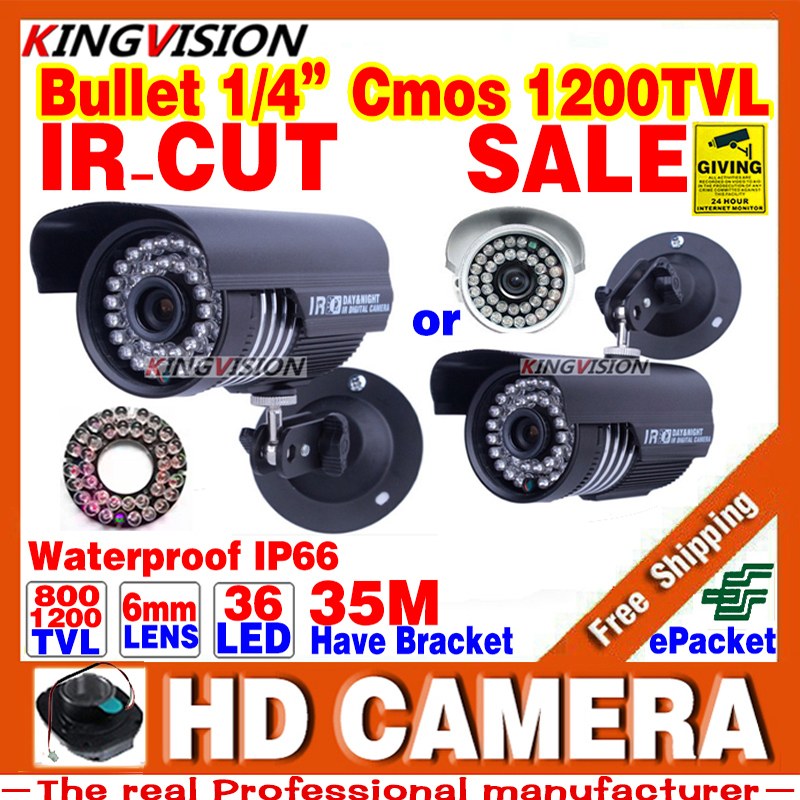 Real HD 1/3cmos 1200TVL Sensor Waterproof IP66 Day/N Security AHDL CCTV Camera Indoor Outdoor IRCUT Video 36led infrared Vision<br><br>Aliexpress