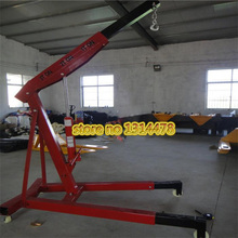 3 Ton Thickening Car Folding Small Crane Engine Manual Hydraulic Crane Telpher(China)