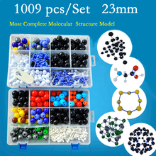 1009pc Most Complete Organic Molecular Crystal Structure Model Kit for Student Teacher Teaching Tool Free Shipping 40HS1006