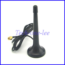 Telescopic Digital Freeview 16dbi ~ 17dbi gains DVB-T TV HDTV Antenna SMA Male connector Aerial(China)