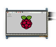 7 inch 1024*600 Capacitive Touch Screen LCD Display HDMI Interface Custom Raspbian Angstrom for Raspberry Pi Banana Pi