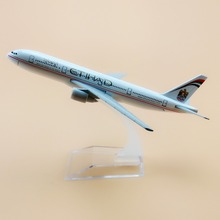 16cm Alloy Metal Air Etihad B777 Airlines Plane Model Aircraft Boeing 777 Airways Airplane Model w Stand  Gift