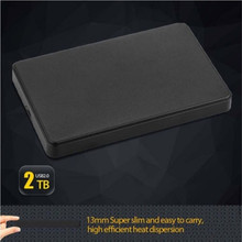 Slim 2.5&Quot USB 2.0 HDD Case Hard Driver 2TB SATA External Box Disk Case(China)