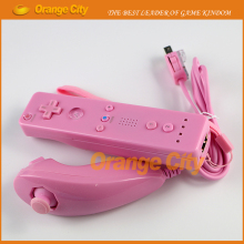 Wired computer game controller left right PC gamepad case with Nunchucks double shock for Nintendo wii game consoles(China)