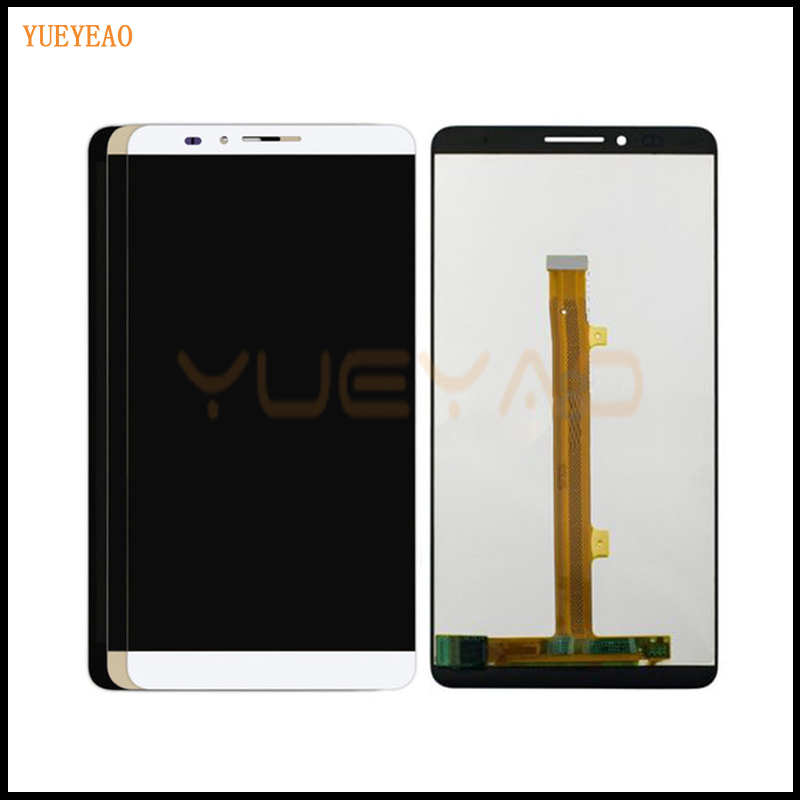 YUEYAO LCD For Huawei Mate 7 LCD Display+Touch Screen Original Assembly Replacement For Ascend Mate 7 LCD Screen Display<br>