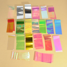 20Pcs/set Mix colors Designs Starry Sky Nail Foils Nail Art Broken Glass Transfer Sticker Decal Fashion DIY Nail Tips Decoration