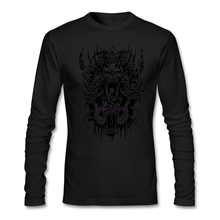 Chic Man Crew-Neck T Shirts Devils in Me  Men Cotton  Full Sleeves Cotton Autumn Shirts shopping t shirts online