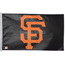 MLB San Francisco Giants Flag 3x5 FT 150X90CM Banner 100D Polyester flag 1032, free shipping