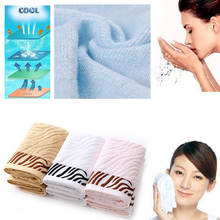 Tiger Pattern Bamboo Fiber Bath Towel Home Soft Comfortable Breathable Bathing(China)